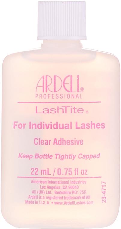 Pegamento para pestañas postizas individuales - Ardell LashTite Adhesive Clear