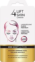 Perfumería y cosmética Parches de hidrogel para ojos con colágeno y partículas de oro - Lift4Skin Hydrogel Under-Eye Patches Collagen and Gold