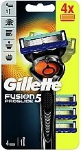 Perfumería y cosmética Maquinilla de afeitar con 3 recambios - Gillette Fusion5 ProGlide