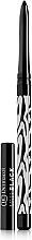 Perfumería y cosmética Lápiz de ojos con efecto mate - Dermacol Make-Up Black Sensation Matt black