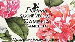 Perfumería y cosmética Jabón artesanal vegetal con aroma a camelia - Florinda Sapone Vegetale Camellia