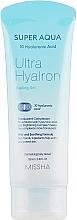 Perfumería y cosmética Gel peeling facial con ácido hialurónico - Missha Super Aqua Ultra Hyalron Peeling Gel
