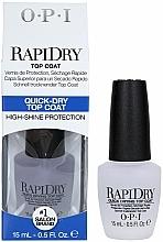 Perfumería y cosmética Top coat, secado rápido - O.P.I RapiDry TopCoat