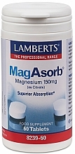 Perfumería y cosmética Complemento alimenticio de Magnesio, en tabletas 150mg - Lamberts MagAsorb