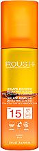 Perfumería y cosmética Loción bifásica protectora solar, SPF 15 - Rougj+ Two-Phase Sun Lotion Medium Protection With Tanning Activator SPF 15
