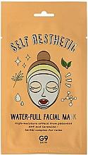 Perfumería y cosmética Mascarilla facial de tejido hidratante con ceramida y complejo de hierbas - G9 Self Aesthetic Waterful Facial Mask