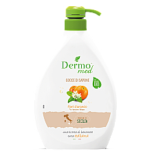 Perfumería y cosmética Jabón líquido cremoso con flor de naranjo - Dermomed Orange Blossom Cream Soap