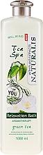 Perfumería y cosmética Baño de espuma relajante con té verde - Naturalis Tea Spa Relaxation Bath