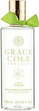 Perfumería y cosmética Gel de ducha-espuma con lirio & verbena - Grace Cole Lily & Verbena Bath & Shower Gel