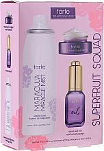 Perfumería y cosmética Set (spray/30ml+ aceite facial/15ml+ crema contorno de ojos/5g) - Tarte Cosmetics Superfruit Squad
