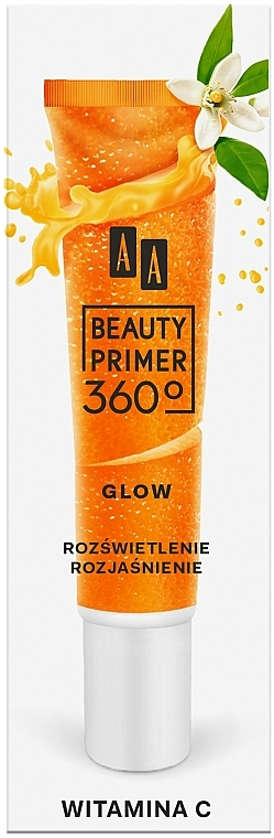 Prebase de maquillaje con vitamina C - AA Beauty Primer 360 Glow Make-Up Base Vitamin C