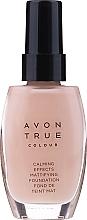 Perfumería y cosmética Base de maquillaje iluminadora hipoalergénica con extracto de lavanda y camomila - Avon Calming Effects, Calm glow