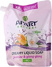 Perfumería y cosmética Jabón líquido con jazmín e ylang ylang (recarga doypack) - Apart Natural Jasmine & Ylang Ylang Soap