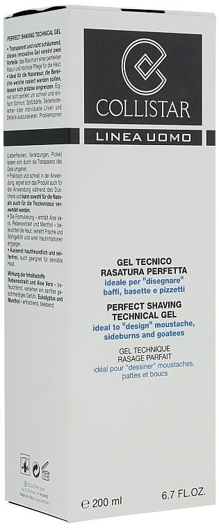 Gel de afeitara - Collistar Perfect Shaving Technical Gel — imagen N3