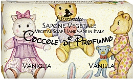 Perfumería y cosmética Jabón vegetal con aroma a vainilla - Florinda Sapone Vegetale Vegetal Soap Vanilla