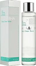 Perfumería y cosmética Tónico facial con extracto de papaya - Mizon AHA & BHA Daily Clean Toner