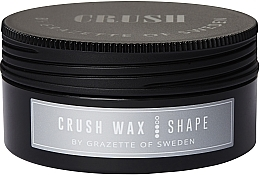 Perfumería y cosmética Cera para cabello, fijación media, acabado brillante - Grazette Crush Wax Shape