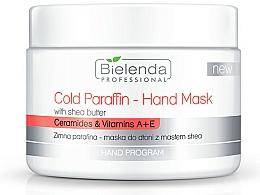 Perfumería y cosmética Mascarilla de manos de parafina fría con extracto de karité - Bielenda Professional Cold Paraffin Hand Mask With Shea Butter (400 g)