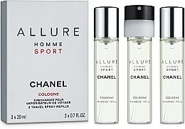 Perfumería y cosmética Chanel Allure Homme Sport Cologne - Eau de toilette (con 2uds. de recambio)