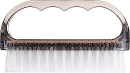 Perfumería y cosmética Cepillo de uñas, 74752, gris transparente - Top Choice