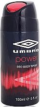 Perfumería y cosmética Umbro Power - Desodorante