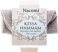 Perfumería y cosmética Guante de baño de lino y algodón - Nacomi Kessa Hammam
