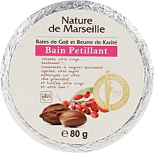 Perfumería y cosmética Bomba de baño con aroma a bayas de goji y manteca de karité - Nature de Marseille Goji&Shea Butter