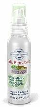 Perfumería y cosmética Crema de manos natural con aceite de almendras dulces, pieles secas - Ma Provence Hand Cream Dry Skin