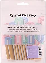 Perfumería y cosmética Set almohadillas de repuesto para lima de uñas, DFE-51-240 - Staleks Pro (10 uds.)