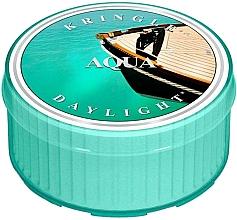 Perfumería y cosmética Vela de té con aroma cítrico-marino - Kringle Candle Aqua Daylight
