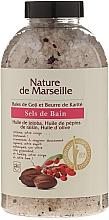 Perfumería y cosmética Sales de baño con aroma a bayas de goji y manteca de karité - Nature de Marseille