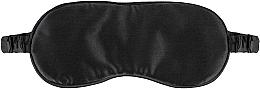 Perfumería y cosmética Antifaz para dormir de seda natural, negro - Makeup Sleep Mask Black