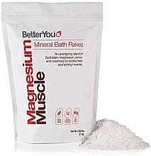 Perfumería y cosmética Sales minerales de baño para relajación muscular con magnesio, limón y romero - BetterYou Magnesium Mineral Bath Flakes Lemon Rosemary