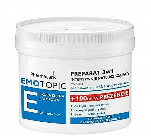 Crema corporal nutritiva para piel seca y atópica - Pharmaceris E Lipid-Replenishing Formula 3in1