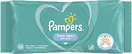 Perfumería y cosmética Toallitas húmedas para bebes sin alcohol, 52uds. - Pampers Baby Fresh Clean