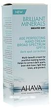 Perfumería y cosmética Crema de manos antiedad con agua del Mar Muerto, SPF 15 - Ahava Time To Smooth Age Perfecting Hand Cream Broad Spectrum SPF15