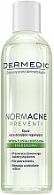 Perfumería y cosmética Tónico facial con aceite de ricino - Dermedic NormAcne Preventi Tonic