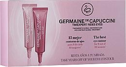 Perfumería y cosmética Tratamiento contorno de ojos (gel-crema de día + crema de noche) - Germaine de Capuccini Timexpert Rides Eyes Contour Treatment (2 x 10 ml)