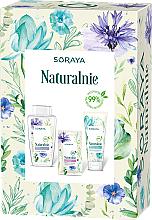 Perfumería y cosmética Set facial (agua micelar/400ml + gel/150ml + mascarilla/17ml) - Soraya Naturally