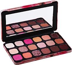 Perfumería y cosmética Paleta de sombras de ojos, 18 colores - Makeup Revolution Forever Flawless Palette