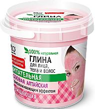 Perfumería y cosmética Arcilla rosa de Altái para rostro,cuerpo y cabello - Fito Cosmetic
