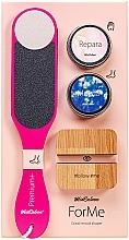 Perfumería y cosmética MiaCalnea Oakis Set - Set (crema de manos/50ml + crema para pies/50ml + lima de pedicura + soporte para teléfono móvil)