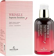 Perfumería y cosmética Emulsión facial antiarrugas con extracto de ginseng rojo - The Skin House Wrinkle Supreme Emulsion