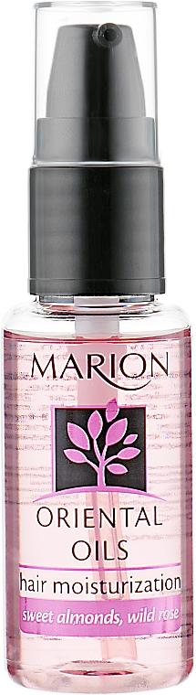 Aceite para cabello de almendra dulce y rosa canina - Marion Moisturization Hair Oriental Oil