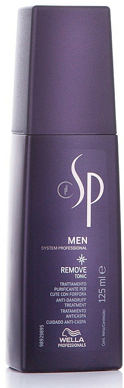 Tónico para cabello anticaspa con agua de hamamelis - Wella SP Men Remove Tonic