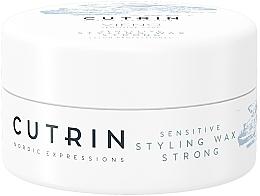 Perfumería y cosmética Cera moldeadora de cabello, fijación fuerte - Cutrin Vieno Sensitive Styling Wax Strong