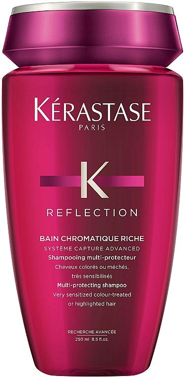 Champú protector del color para cabello muy sensibilizado coloreado o con mechas - Kerastase Reflection Bain Chromatique Riche Shampoo