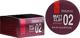 Perfumería y cosmética Arcilla para cabello de fijación media - Salerm Pro Line Matt Clay