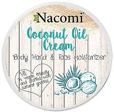 Perfumería y cosmética Crema para rostro y cuerpo con aceite de coco - Nacomi Coconut Cream