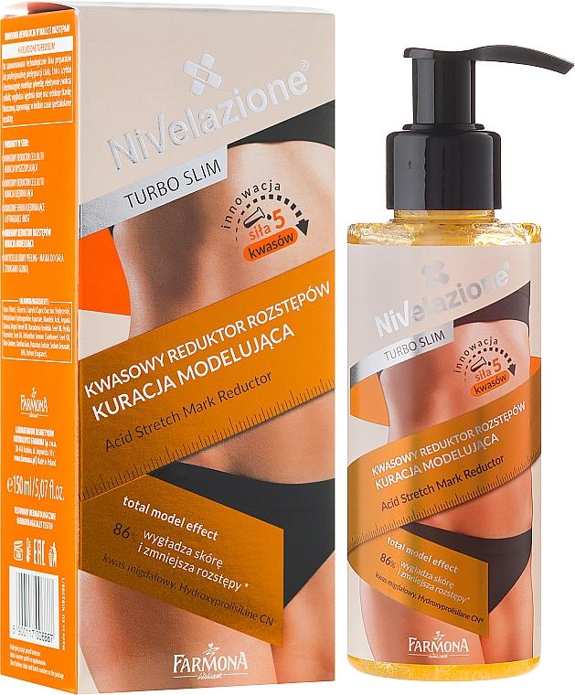 Mascarilla corporal antiestrías con ácidos - Farmona Nivelazione Turbo Slim Acid Stretch Mark Reductor